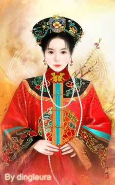 Chinese Infanta by dinglaura.deviantart.com on @deviantART - A princess of the Qing Dynasty - which technically means she'd be Manchurian rather than Chinese per se, but there you go. Such is the way of politics.