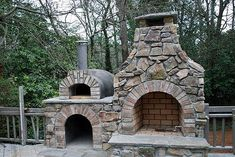 Good outdoor fireplace flue just on Indoneso home design