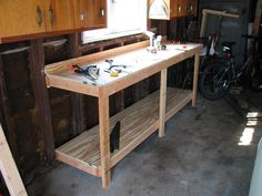 Garage Work Table Plans Garage Work Table Plans If You Are Searching For  Portable Workbench Plans To Construct Your Own Working Area Or You Are Just  Ready ...