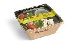 Ideas For Fruit Box Packaging Food Salad Packaging, Sandwich Packaging, Food Packaging Design, Brand Packaging, Box Packaging, Salad Design, Food Design, Delivery Comida, Salad Box