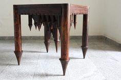 9191 Castle Table reversible ...