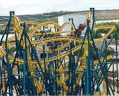 Poltergeist.  Fiesta Texas - San Antonio, Texas- We should have tried this when we were in San Antonio.