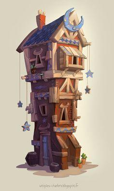 Moon House, Charlène...@一点點采集到建筑素材(105图)_花瓣