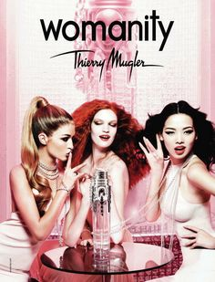 Womanity Thierry Mugler perfume - a fragrance for women 2010