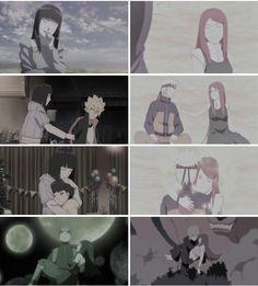 Hinata Hyuga (Uzumaki) and Kushina Uzumaki (Namikaze) Hinata Hyuga, Himawari Boruto, Naruto And Kushina, Naruhina, Sasuke, Naruto Shippuden, Anime Naruto, Manga Anime, Sakura Haruno
