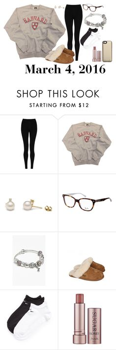 """""""March 4, 2016"""" by jennie-le on Polyvore featuring M&S Collection, Ray-Ban, Pandora, UGG Australia, NIKE, Fresh, Mophie, women's clothing, women's fashion and women"""