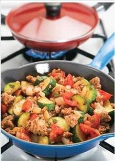 How about a little turkey skillet? This is delish-ish! Here's the recipe.