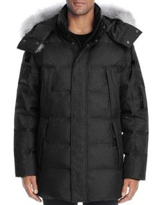 ANDREW MARC Altitude Quilted Down Parka. #andrewmarc #cloth #parka