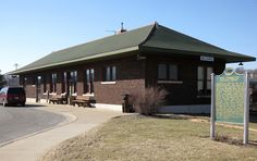 The Pere Marquette Railway Depot in Belding, Michigan opened in 1921. In 1941 passenger service to Belding was eliminated. In 1994 the City of Belding purchased the building. The building is listed on the National Register of Historic Places.