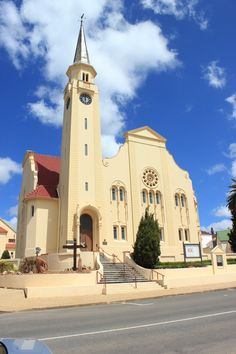 Church in Napier, Overberg, Western Cape - South africa