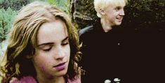 """Hermione sucker-punched Draco right in the face, proving to fans once again why she's so damn amazing and why he's a """"foul, loathsome, evil, little cockroach."""" Tom Felton Explained Why Emma Watson Slapped Him On The """"Harry Potter"""" Set Tom Felton Harry Potter, Harry Potter Hermione, Hermione Granger, Draco Malfoy, Images Harry Potter, Harry Potter Jokes, Harry Potter World, Emma Watson, Dramione"""