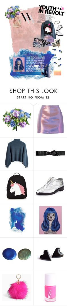 """Youth Revolution"" by jhffa ❤ liked on Polyvore featuring Rothko, Improvements, Hedi Slimane, Isabel Marant, Forever 21, Burberry, Balenciaga, Wildfox, Empire Art Direct and CO"