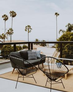 Diego Surfer Style Bachelor Pad Home Tour modern patio seatingmodern patio seating Patio Seating, Patio Chairs, Seating Areas, Outdoor Balcony, Outdoor Decor, Outdoor Spaces, Modern Balcony, Outdoor Furniture, Surfer Style