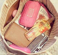how my purse looks lol