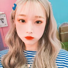 Ulzzang Korean Girl, Cute Korean Girl, Cute Asian Girls, Girls In Love, Aesthetic Korea, Korean Makeup Look, Typical Girl, Korean People, Uzzlang Girl