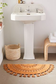 Shop Crochet Sun Bath Mat at Urban Outfitters today. We carry all the latest styles, colors and brands for you to choose from right here. Boho Bathroom, Bathroom Rugs, Bath Rugs, Bathroom Ideas, Master Bathroom, Parisian Bathroom, Bathroom Gallery, Bathroom Stuff, Bathroom Images