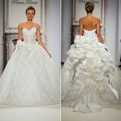 Wedding gown by Pnina Tornai