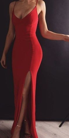 Made Red Mermaid Prom Dress with Leg Slit, Red Mermaid Formal Dresses Prom Dress Evening Dress with Open Back - Source by - A Line Prom Dresses, Mermaid Evening Dresses, Ball Dresses, Evening Gowns, Dress Prom, Sexy Dresses, Casual Dresses, Summer Dresses, Wedding Dresses