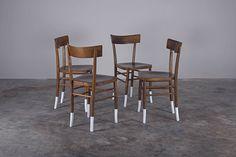 Cross sedia metallo old style seduta legno sedie vintage e