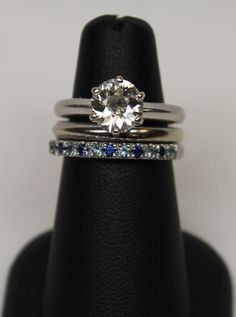 Weding Set with a Baby Carriage Ring LOVE-MARRIAGE-BABY CARRIAGE