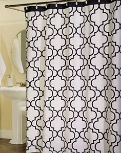 Max Studio Home 100-Percent Cotton Shower Curtain Moroccan Tile Quatrefoil White Navy Blue Lattice 72-Inch by 72-Inch Shower Curtain, http://www.amazon.com/dp/B00PYTIB44/ref=cm_sw_r_pi_awdm_7i-Eub0N4NB06