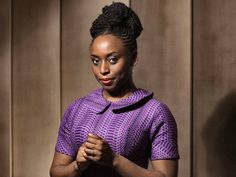 Stylist Magazine Book Club: 5 Reasons Why Chimamanda Ngozi Adichie is the Personification of Style and Substance Chimamanda Ngozi Adichie, Habiba Da Silva, Pantone, African Literature, Purple Hibiscus, Dark Skin Girls, Most Beautiful Faces, Glossy Lips, African American Hairstyles
