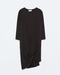 COMBINED TIE DRESS-Dresses-WOMAN   ZARA United Kingdom
