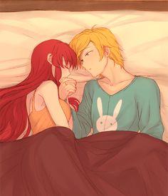 Rooster Teeth | RWBY - Jaune & Pyrrha in Bed Art◀ #YouTubers #RT #Anime