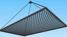 Porta panelas de teto - 3D Warehouse