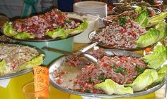 Where to eat Mexico City's best street food ... choose from a range of mouthwatering toppings at Tostadas de Coyoacán. All photographs: Nich...
