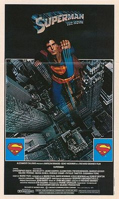 Superman -The Movie (1978). 1st movie I ever went to see in the theatre with Pam Carter.