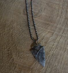 Arrowhead Necklace Mens Necklace Chain Necklace by MANLYandRUGGED