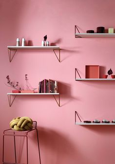 <p>Produced in Sweden by Maze Interiors, this one shelf system has unlimited design solutions! The new shelf system Pythagoras combines style and function with their unique geometrical design solution