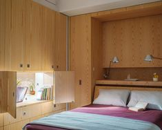 The small Pivot apartment was recently celebrated as the most innovative interior space by the Institute Honor Awards for Interior Architecture. And rightly so! Designed by Architecture Workshop PC, this tiny 400 sq. ft. studio is a multi-faceted wonder and home to the versatility of a bedroom, a dining room large enough to host 10 …