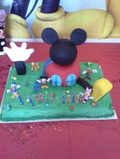 Mickey mouse clubhouse birthday house