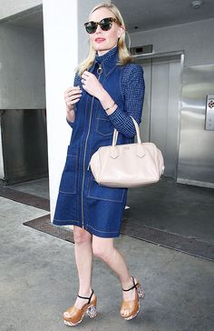 Kate Bosworth's Stylish Tips for Transitioning Into Fall via @WhoWhatWearUK