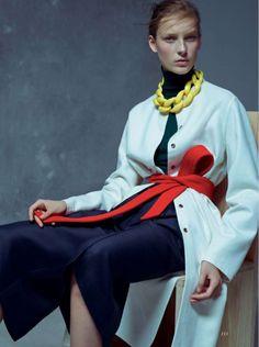 nice Julia Bergshoeff por Karim Sadli para Vogue UK Janeiro 2015  [Editorial]