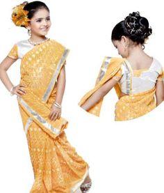 Flower Girl | kids saree fashion indian kids clothing All