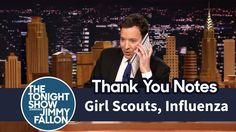 Thank You Notes: Girl Scouts, Influenza