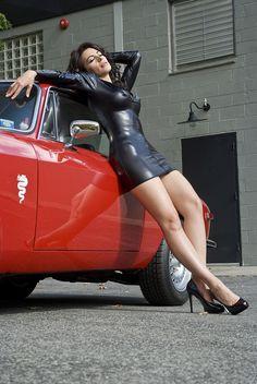 Alfa Romeo cars and ... girls.