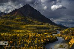 King Mountain in Autumn by akcharly #landscape #travel