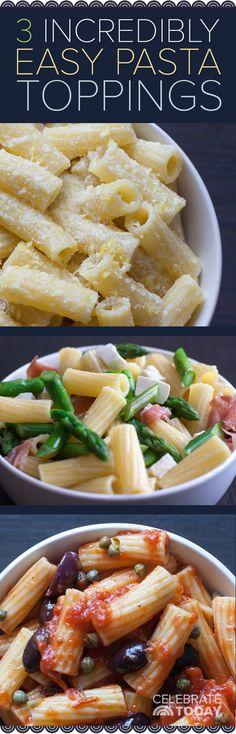 Giada De Laurentiis shares easy 3-ingredient pasta toppers