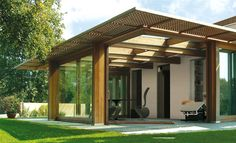 Open your Space #rwindows #glass #veranda #house #architecture #design