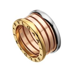 Inspired by the Colosseum in Rome, the BZero1 ring, launched in 2000, quickly became an iconic piece of jewellery for Bulgari. Discover the history of this fashion forward high jewellery brand with antique, vintage and modern jewels: http://www.thejewelleryeditor.com/jewellery/bulgari-history-of-style-celebrities-iconic-design/ #jewelry