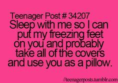 Ty...every night