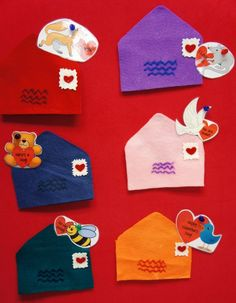 FLANNEL BOARD: Six Valentines This flannel story/rhyme is so cute and fun! The groupgot very involved-counting, naming colors and animals! ...