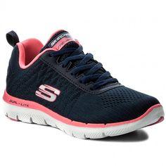 d97cce5539ca Topánky SKECHERS - Break Free 12757 NVHP Navy Hot Pink - Fitness - Športové