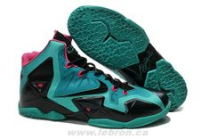 c7c79f34c3c9 Buy Extremely Cheap Nike Lebron 11 Green Black Pink 616175 255 from  Reliable Extremely Cheap Nike Lebron 11 Green Black Pink 616175 255  suppliers.