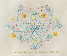 carina's craftblog. Lots of embroidery on this blog!