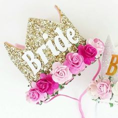 Wanna treat your #Hen to some seriously pimped up #party pieces? How about this #Bride #Crown? https://www.etsy.com/uk/shop/sweetandberryshop #henpartyideas #hendoideas #henpartyplanning #henparty #henpartyweekend #danceclass #party #danceparty #dance #henweekend #dancepartyexperience #thedancespecialists